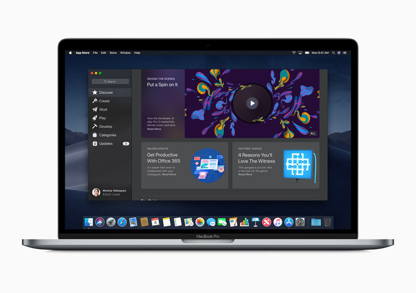The Mac App Store may not have a range of titles, but it's likely to be an easy switch for developers to port their apps to ARM.