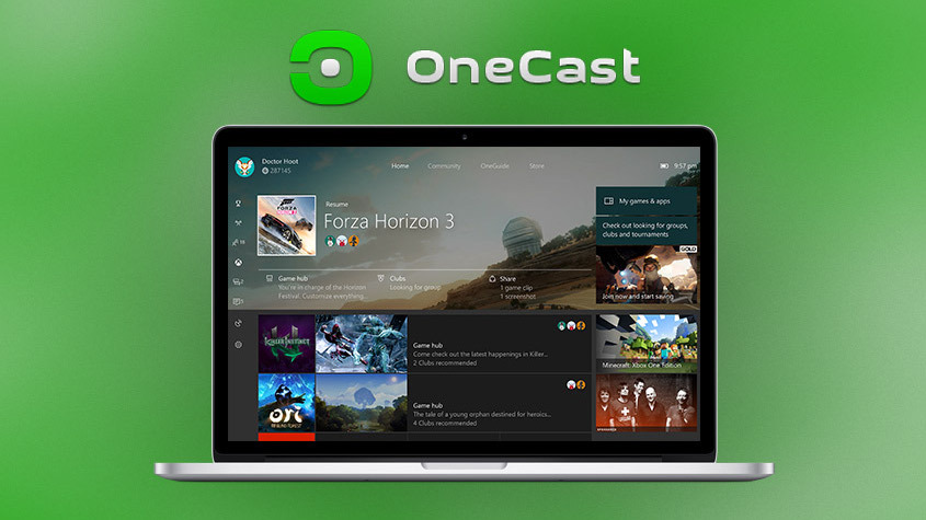 OneCast is a third-party solution that allows for Xbox-to-Mac game streaming.