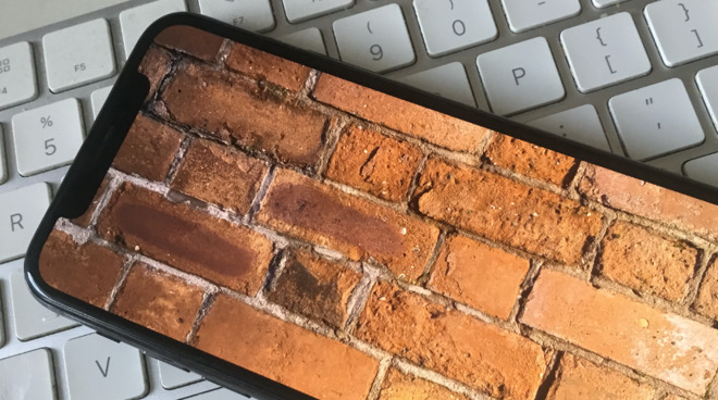 Bricked, or completely disabled, devices don't usually look this pretty