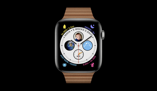 One watchOS 7 interface