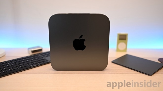 The Mac mini enclosure is being reused for the Developer Transition Kit