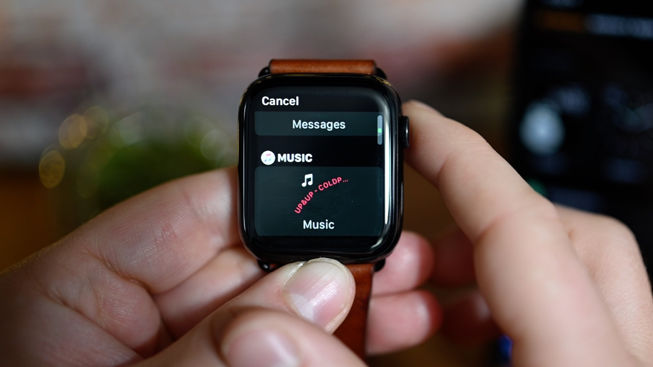 New complication picker in watchOS 7