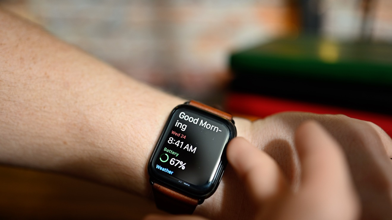 Good morning report on Apple Watch after sleeping
