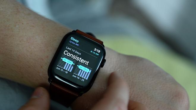 Sleep app in watchOS 7