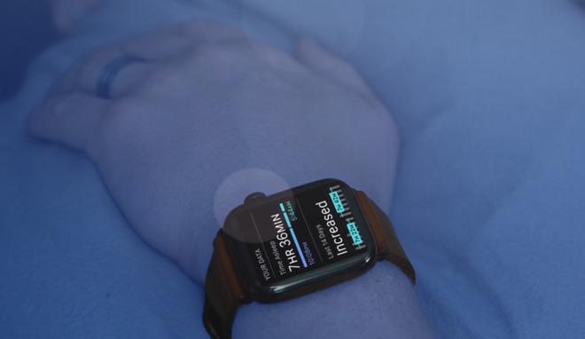 Sleeping with Apple Watch