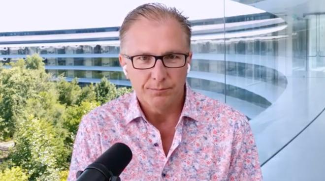 Greg Joswiak, Apple vice president of iOS, iPad and iPhone Marketing
