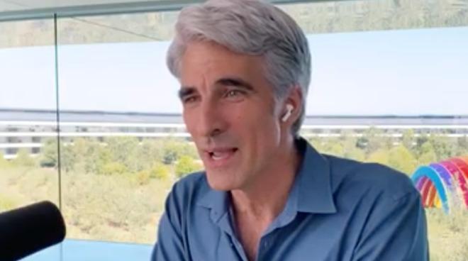 Craig Federighi on The Talk Show