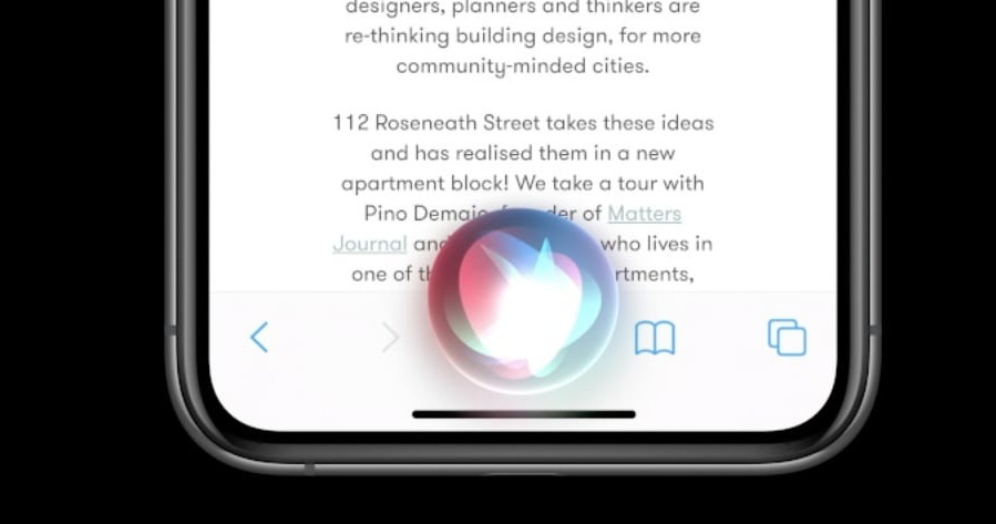 The new look of Siri in iOS 14