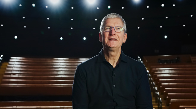 Tim Cook starts off a historic WWDC