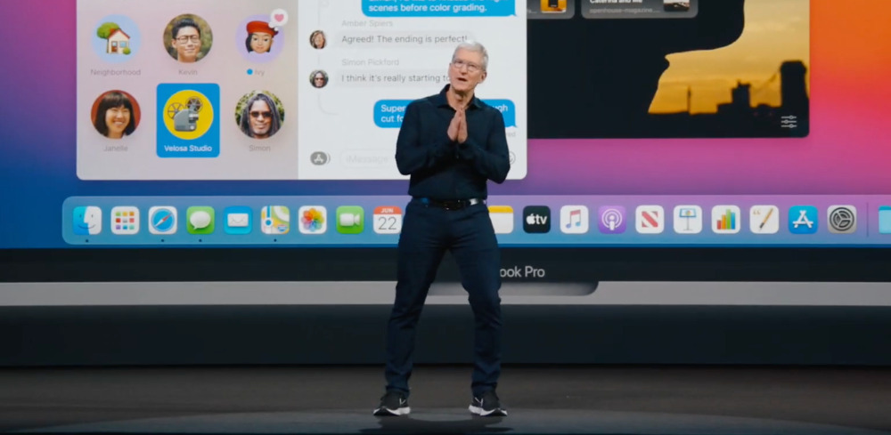 Is Tim Cook sincere, or praying?