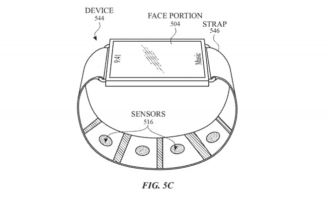 An Apple Watch with extra sensors in the band.