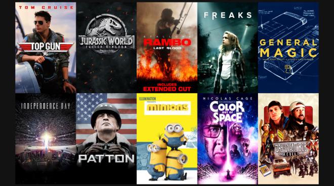 iTunes Movie Deals