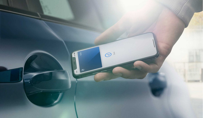 photo of Apple digital car key arrives with updated BMW Connected app image