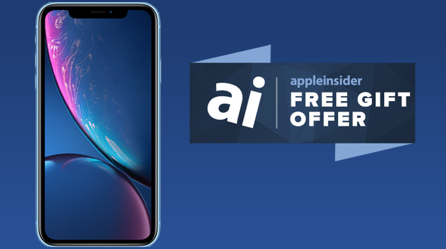 Free gift with iPhone XR