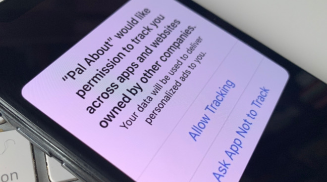 Users will be asked to give permission app-by-app for ad tracking