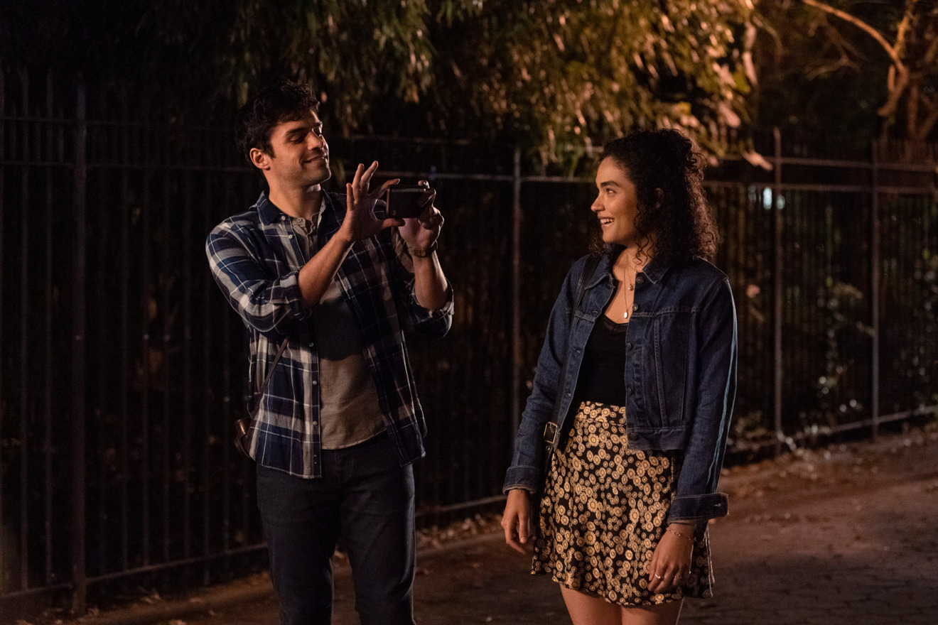 Sean Teale and Brittany O'Grady in