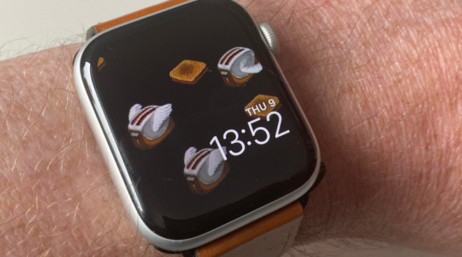 Alas, there won't be an After Dark screensaver for Apple Watch. But the Flying Toasters would fix the problem.