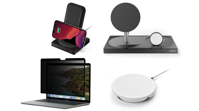 photo of Belkin releases three new wireless chargers, MacBook privacy screen protector image