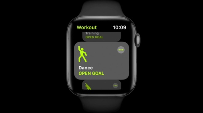 Apple Watch watchOS 7 dance workout