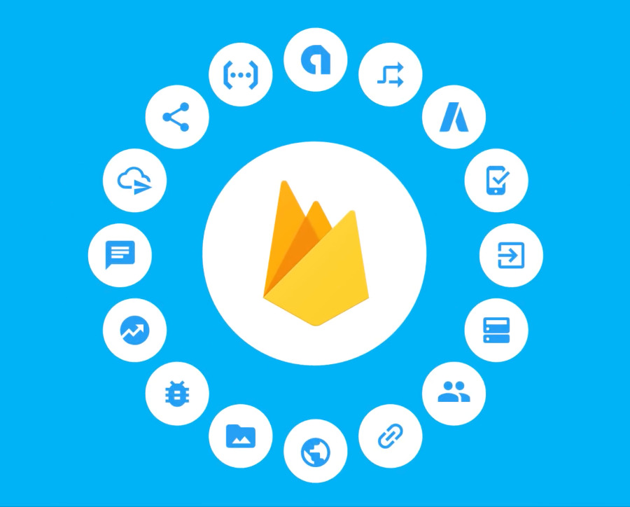 Still from a Google video promoting its Firebase SDK as a backend solution for mobile app developers