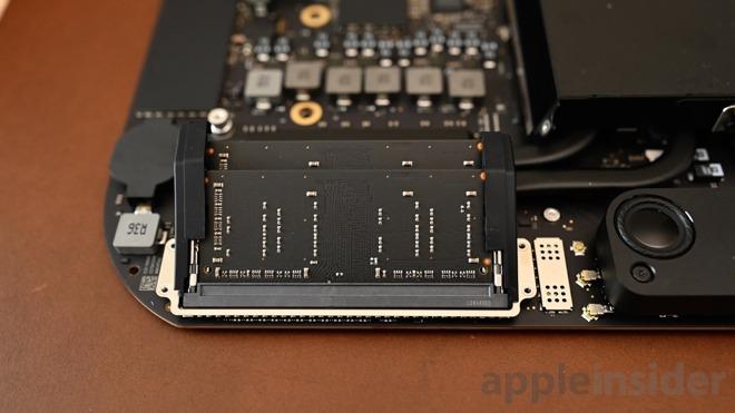 RAM slots on a Mac Mini