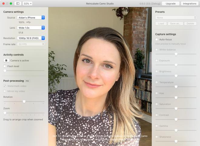 Camo app for Mac