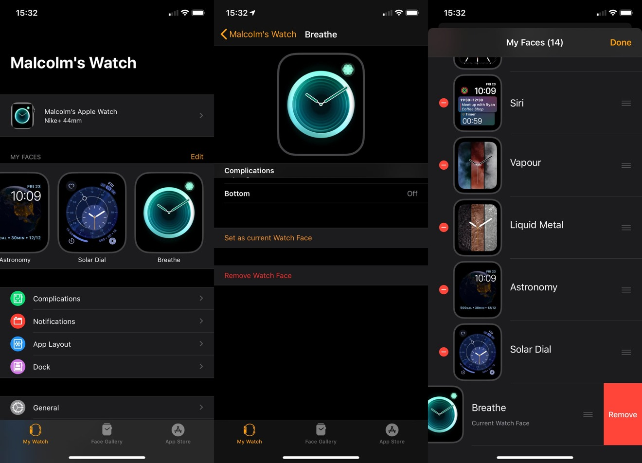 How to Add or Remove Watch Faces on Your Apple Watch