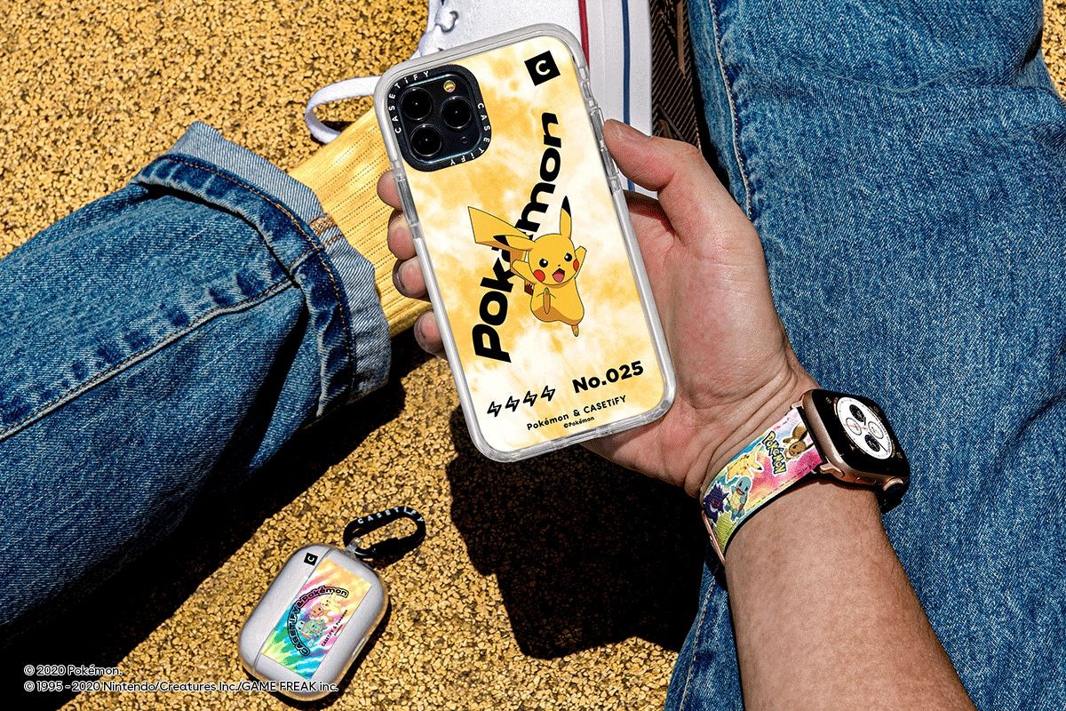 Pokemon is coming again to Casetify's gear