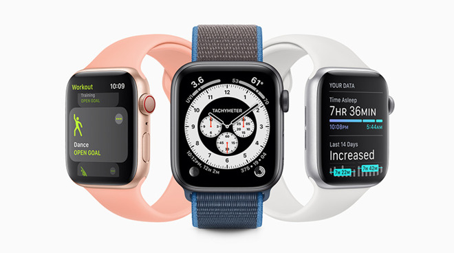 Some health feature changes in watchOS 7 include new workout types and sleep tracking.