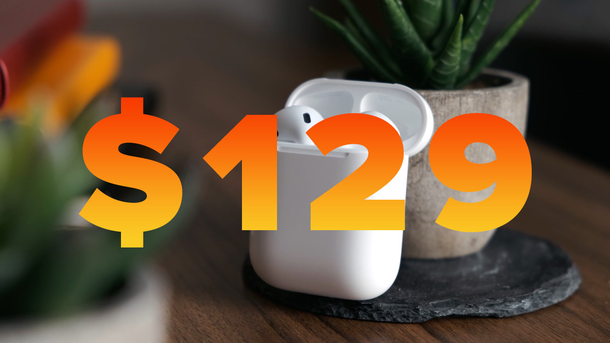 Apple AirPods discounts