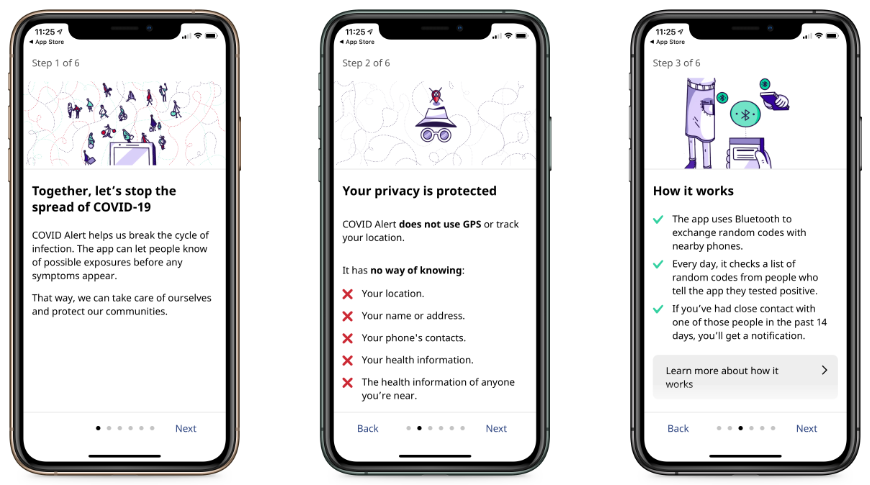 COVID-19 app, backed by federal government, now available