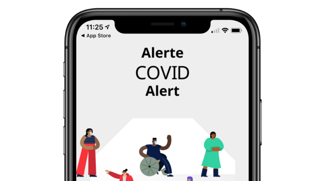 photo of Canada releases its COVID contact tracing app using the Apple-Google API image