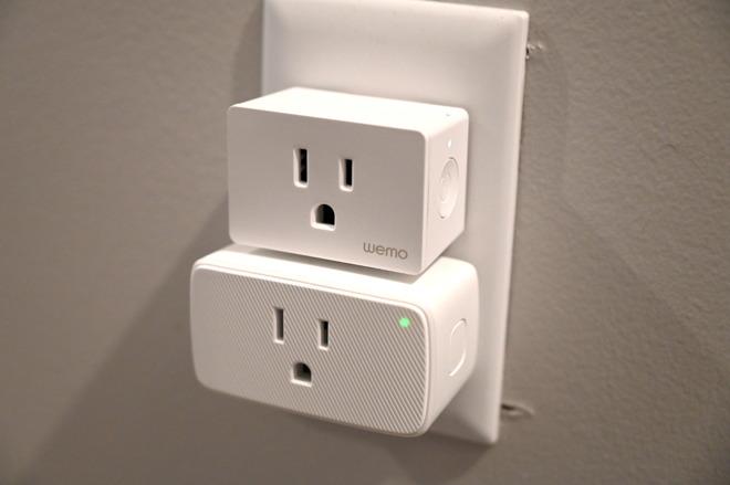 Wemo Smart Plug and VOCOlinc Smart Bar