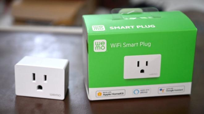 The new Belkin Wemo Smart Plug and its box