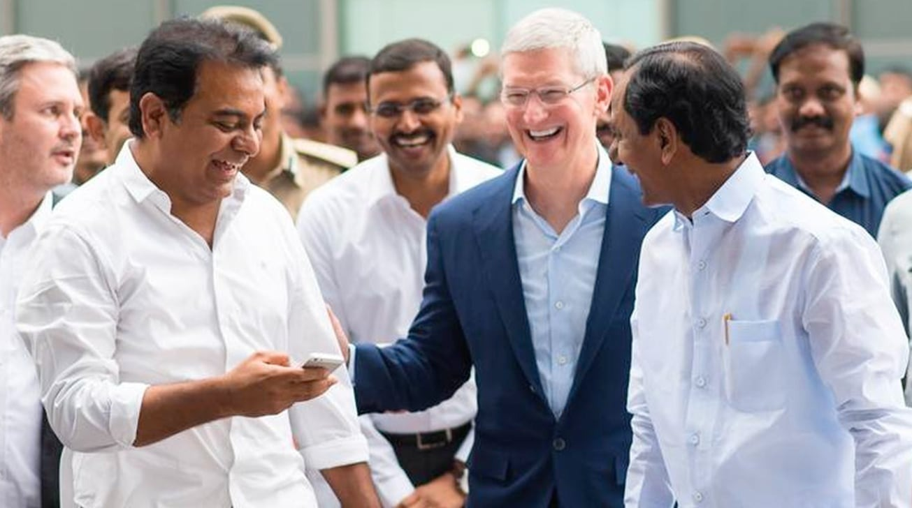 India says Apple, 21 firms pledge $1.5 billion investment
