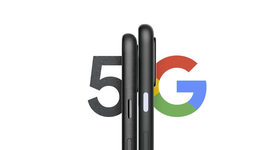 Google's sneak-peek image for the Pixel 4A 5G and the Pixel 5