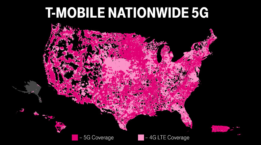 T-Mobile rechristens its 5G network as 'standalone,' expands to 7,500 cities