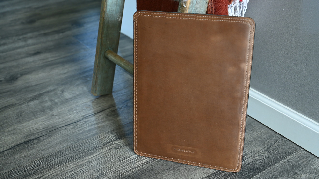 Clayton and Crume leather MacBook Pro sleeve