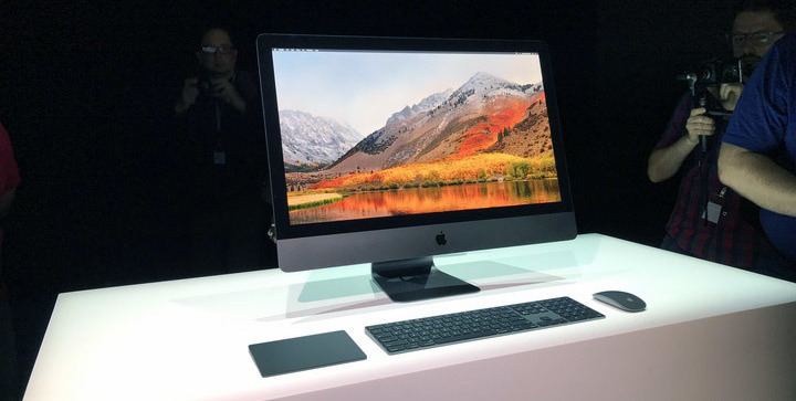 The first sneak peek of the iMac Pro in 2017. It hasn't changed much.