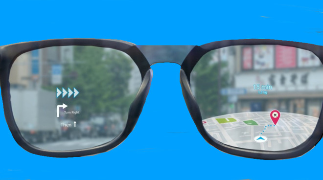 A single, solid-color background could be replaced by AR images through