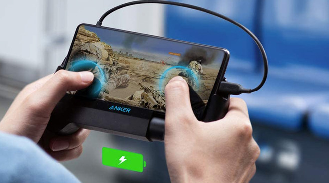 Anker's PowerCore Play 6700 is a portable charger for mobile gamers