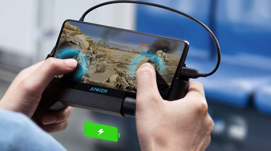 photo of Anker's PowerCore Play 6700 is a portable battery bank for iPhone gamers image