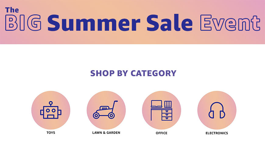 Amazon launches Big Summer Sale, back-to-school deals offer up to 75% off