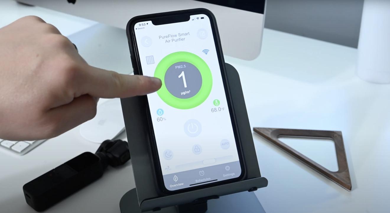 More controls in the VOCOlinc app