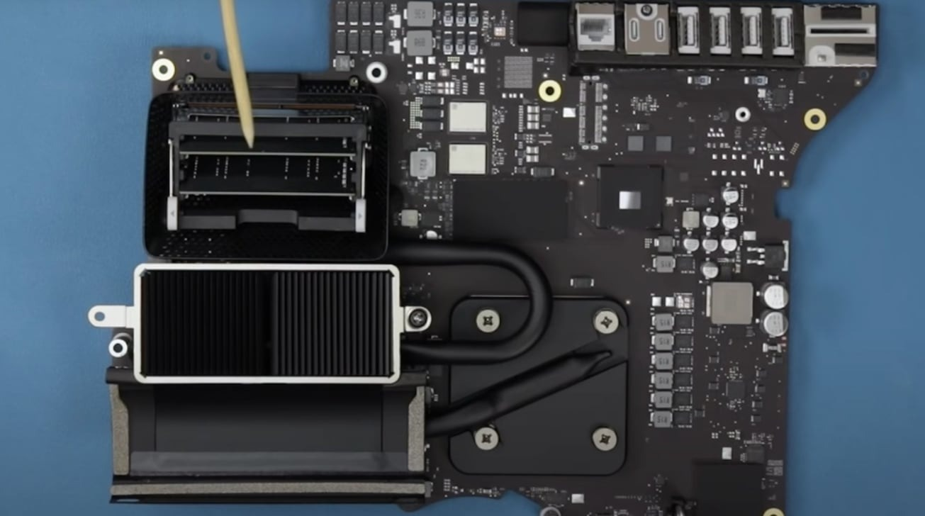 27-inch iMac teardown shows lack of storage upgrade options