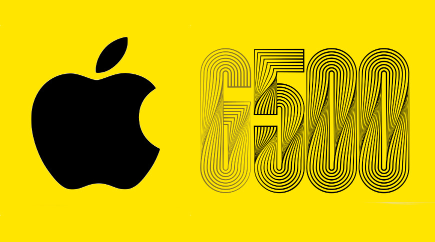 photo of Apple 12th on Fortune's Global 500 list of companies image