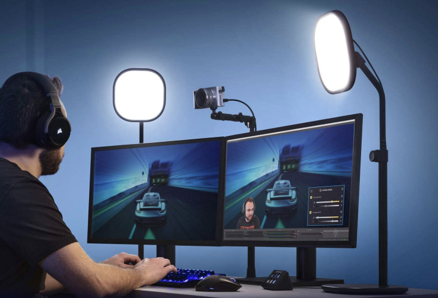 Elgato's Key Light Air is a highly controllable and bright lighting system for streamers.