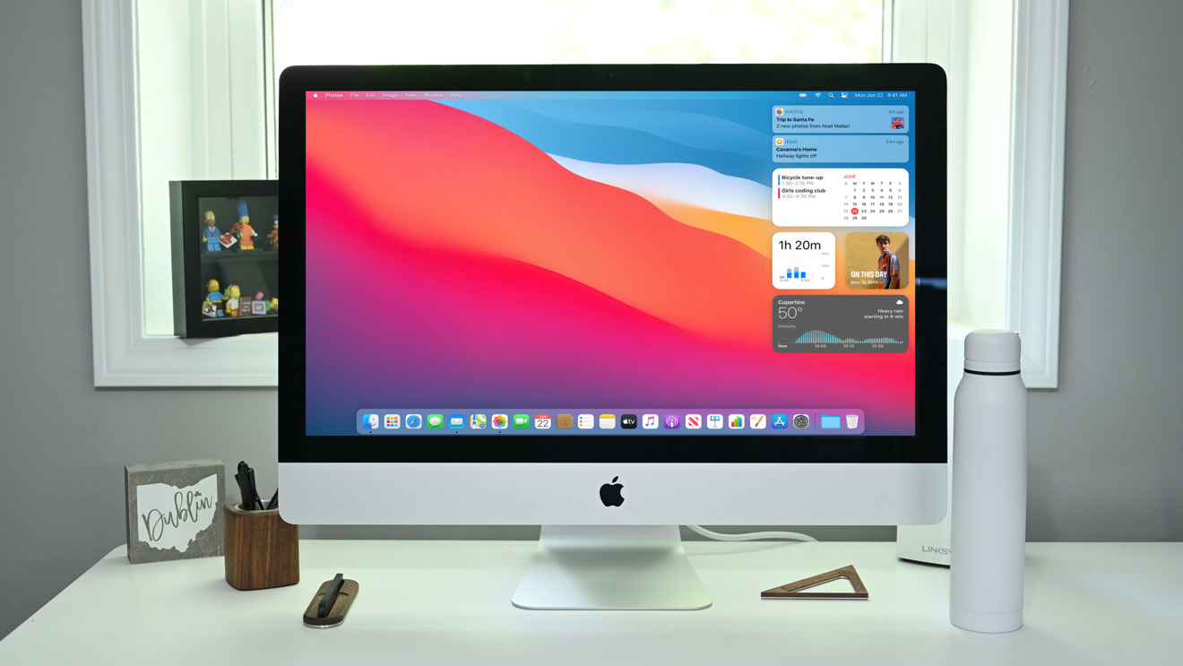 The new 27-inch iMac with nano-texture glass