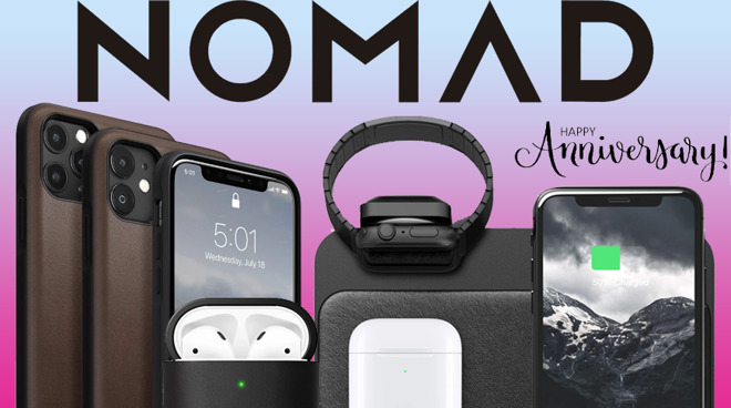 photo of Nomad Anniversary Sale: Save 30% on accessories for your Apple Watch, Mac, AirPods, iPad and iPhone image