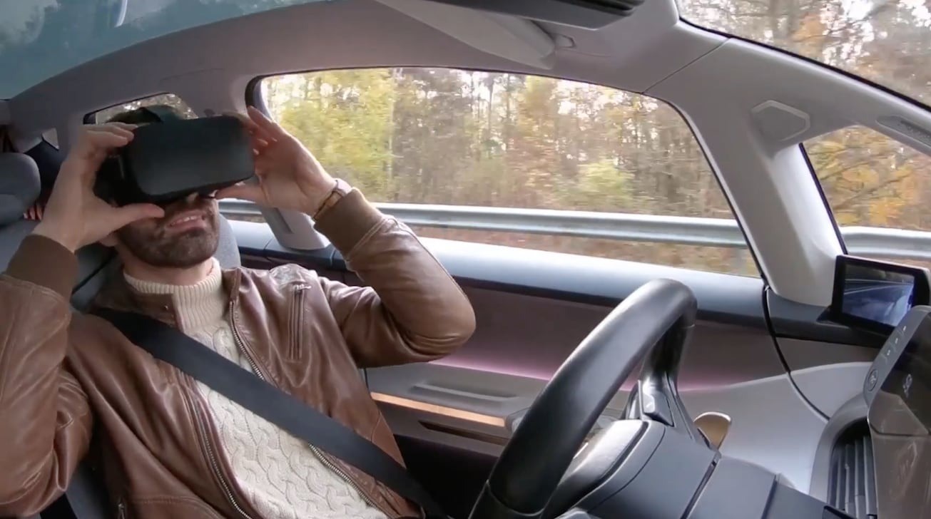photo of 'Apple Car' may control how doors move, offer motion sickness-free VR image